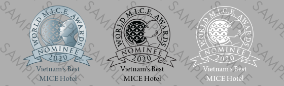 World MICE Awards Nominee shield sample