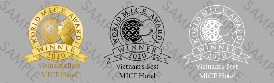 World MICE Awards winner shield sample